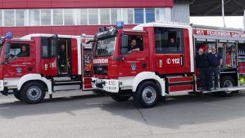Permalink zu:Zwei neue Löschfahrzeuge an die Feuerwehr Gauting ausgeliefert
