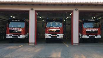 Permalink zu:Neue Fahrzeuge offiziell in den Einsatzdienst übernommen