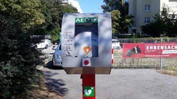 Permalink zu:Defibrillator (AED) aufgestellt