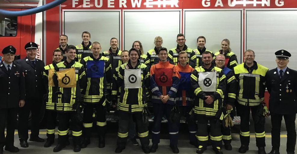 Permalink zu:18 Feuerwehrmänner und -Frauen stellen ihr Können unter Beweis